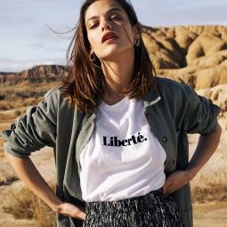 T-shirt Grace & Mila Celestin Liberté écru