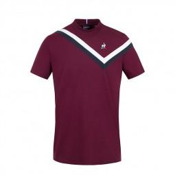 T-shirt Le Coq Sportif 2110569 prune