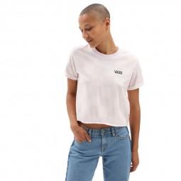 T-Shirt manches courtes Vans Mini Stripe Pocket violet