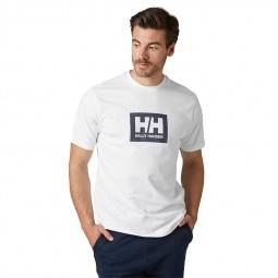 T-shirt Helly Hansen Box T blanc
