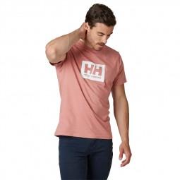 T-shirt Helly Hansen Box T rose