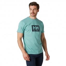 T-shirt Helly Hansen Box T vert