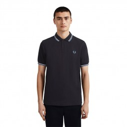 Polo Fred Perry M3600 J88 bleu marine