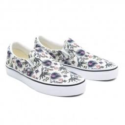 Chaussures Vans Slip-On Paradise Floral blanc