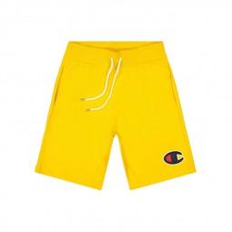 Short Champion molleton jaune