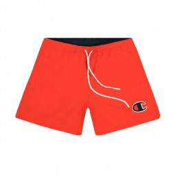 Short de bain Champion rouge