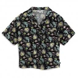 Chemise Vans à fleurs