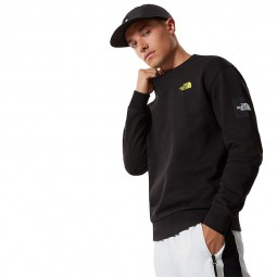 Sweat col rond The North Face Black Box noir