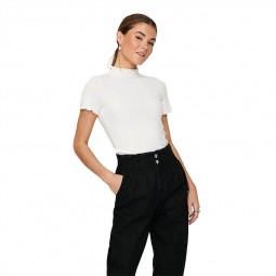 T Shirt Only Emma blanc