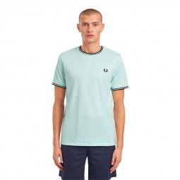 T-Shirt Fred Perry M1588 M32 vert d'eau