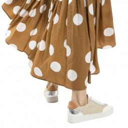 Chaussures Vanessa Wu tweed beige