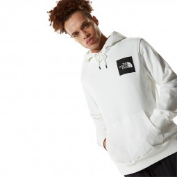Sweat capuche The North Face Fine Hoodie blanc