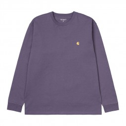 T-shirt manches longues Carhartt Chase violet