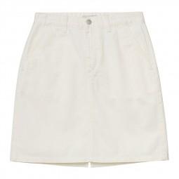 Jupe Carhartt Armanda Skirt blanc écru