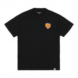 T-shirt Carhartt WIP Hartt of Soul noir