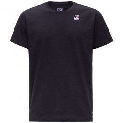 T-Shirt KWAY Le Vrai Edouard bleu marine