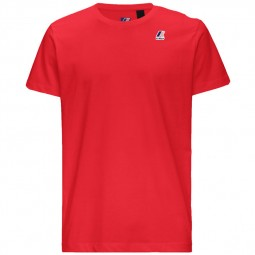 T-Shirt KWAY Le Vrai Edouard rouge