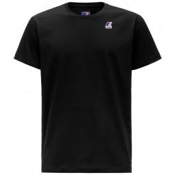 T-Shirt KWAY Le Vrai Edouard noir