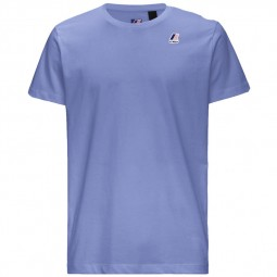 T-Shirt KWAY Le Vrai Edouard bleu azur