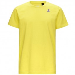 T-Shirt KWAY Le Vrai Edouard jaune