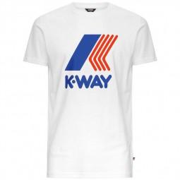 T-Shirt KWAY Pete blanc