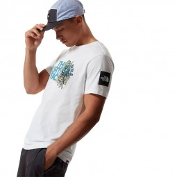 T-shirt manches Metro Graphic The North Face blanc