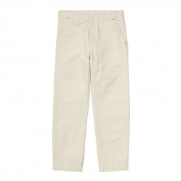 Pantalon Carhartt Wesley Pant ecru