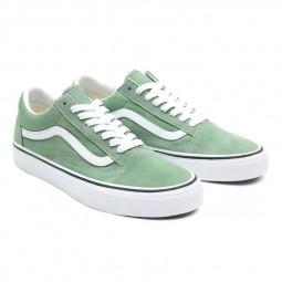 Chaussures Vans Old Skool vert pâle