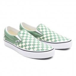 Chaussures Vans Slip-On vert pâle