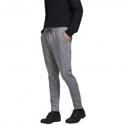 Pantalon en toile Jack & Jones Will gris carreaux