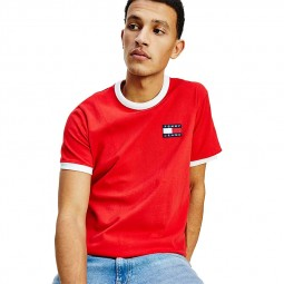 T-shirt Tommy Jeans 0280 rouge