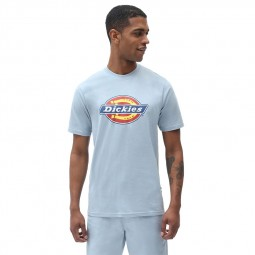 T shirt Dickies Icon Logo bleu ciel
