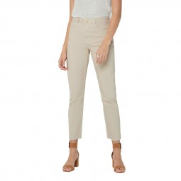 Jeans Only taille haute beige