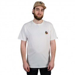 T-shirt The Dudes Little Fucky blanc