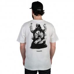 T-shirt The Dudes Coronnard blanc