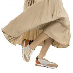 Chaussures Vanessa Wu running beige orange