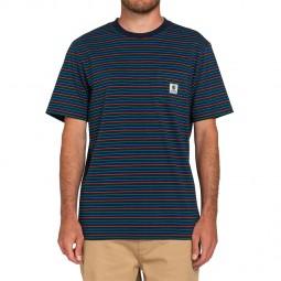 T-shirt Element Basic Multi bleu marine
