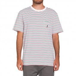 T-shirt Element Basic Multi blanc