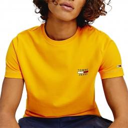 T-shirt Tommy Jeans Chest Logo orange