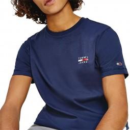T-shirt Tommy Jeans Chest Logo bleu marine