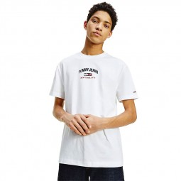 T-shirt Tommy Jeans Timeless Tee blanc