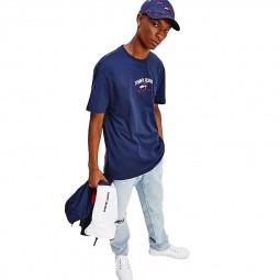 T-shirt Tommy Jeans Timeless Tee bleu marine