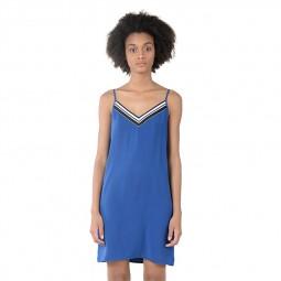 Robe Lili Sidonio à bretelles bleu dur