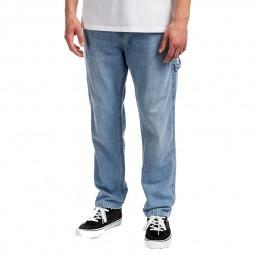 Pantalon Cargo Reell Reflex Rib bleu clair