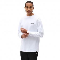 T-shirt Dickies manches longues Loretto blanc