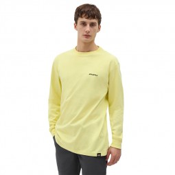 T-shirt Dickies manches longues Loretto jaune