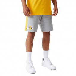 Short molleton New Era Los Angeles Lakers gris