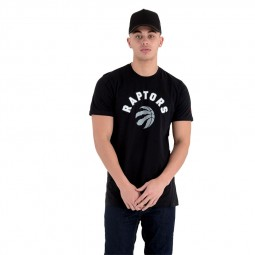 T-shirt New Era Toronto Raptors noir