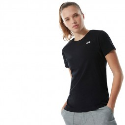 T Shirt The North Face S/S Simple Dome noir