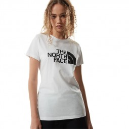 T-shirt femme The North Face S/S Easy Tee blanc